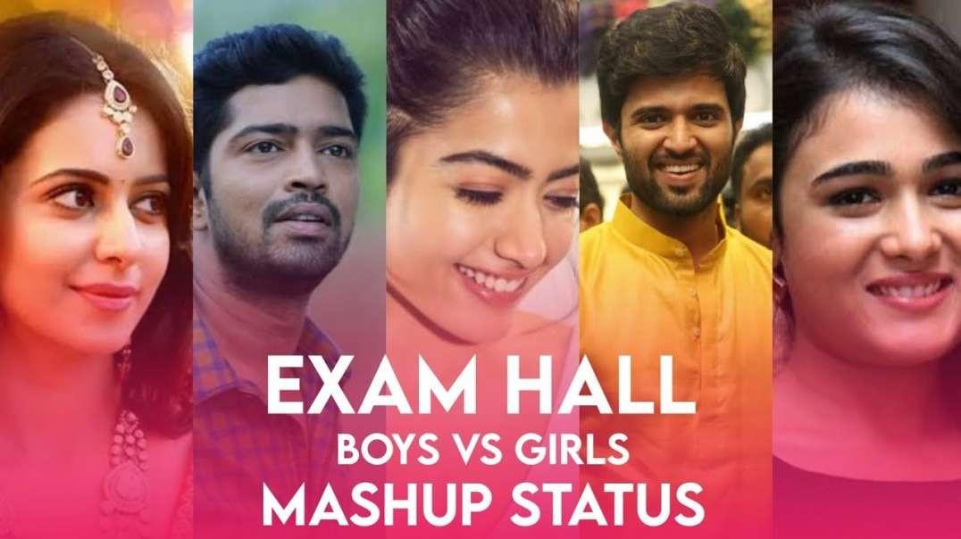 Exam Hall Whatsapp Status Telugu  Boys Vs Girls Exam Hall Whatsapp Status  Dilse Music_1080p.mp4