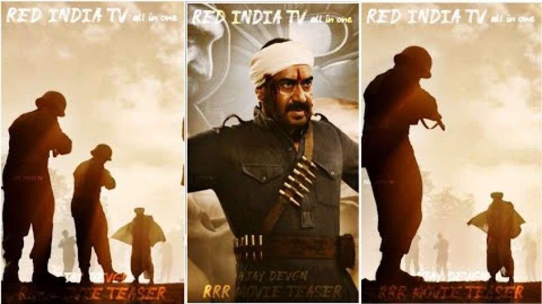 Ajay Devgn WhatsApp Status Video | RRR Movie WhatsApp Status VIdeo | Telugu Full Screen Status Video