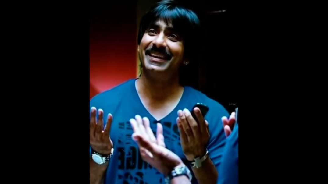 Bad Boy WhatsApp Status Telugu | Boys Attitude Status Videos Telugu | Ravi Teja  Status Videos
